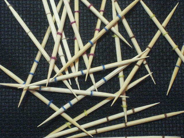 Tooth picks textiles