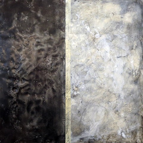 abstract fine art encaustic contemporary painting