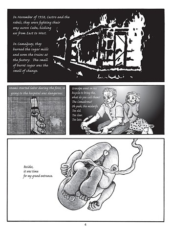"Page 2 of the graphic novel ""Sexile"""