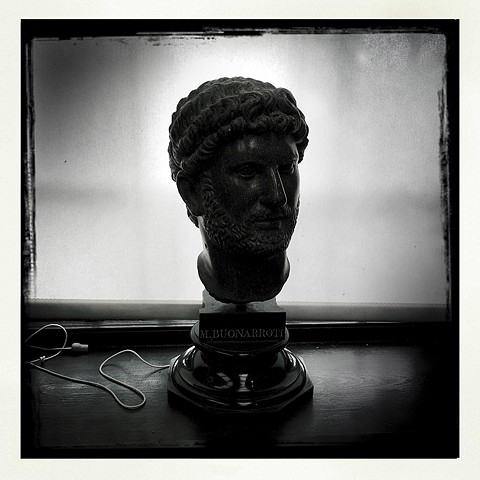 Chesters Museum - Hadrian Bust