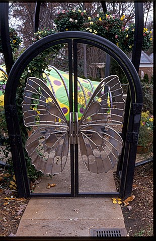BUTTERFLY PAVILION (Door detail)