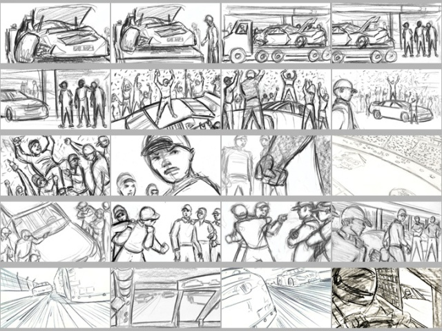 Core X Storyboards