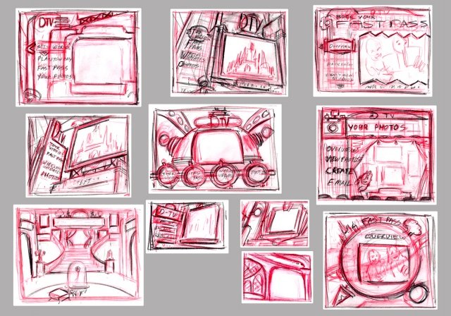 DTV Thumbnail sketches