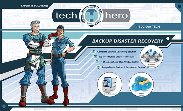 Tech Hero Trade Show PLA Final Design