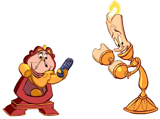 Cogsworth Lumiere Final forget-me-not