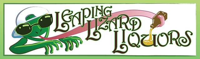 Leaping Lizard signage v2