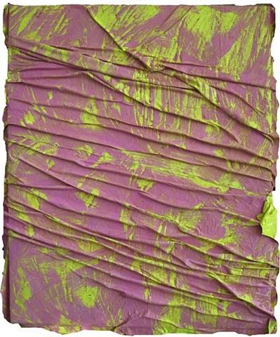 "ANGEL OTERO ""Long walks away"" Collaged oil paint skins on canvas ANGEL OTERO ""Long walks away"" Collaged oil paint skins on canvas"