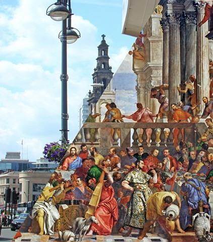 Veneeds  Church of the Holy Trinity - Le nozze di Cana by Paolo Veronese (1562-63)