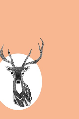 Peach Deer II, The Hunting Party Series by Dani Green