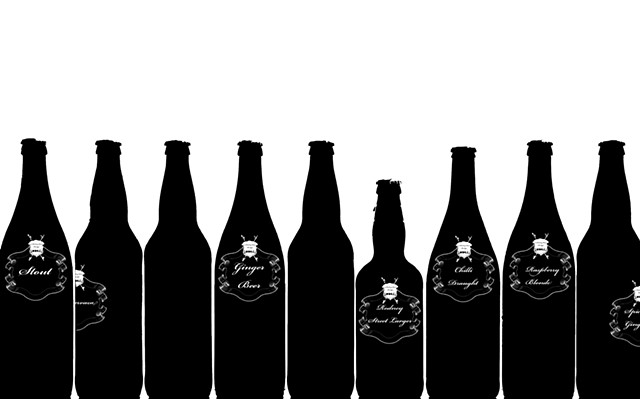 Home Brew Bottles {Rodney Street Project} Limited Edition Book