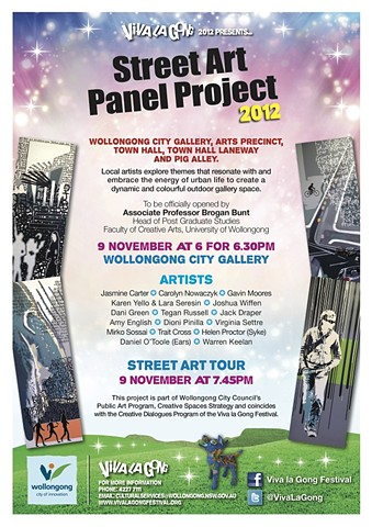 Wollongong City Gallery Panel Project 2012