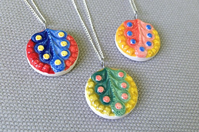 Vegetable Tree Necklaces