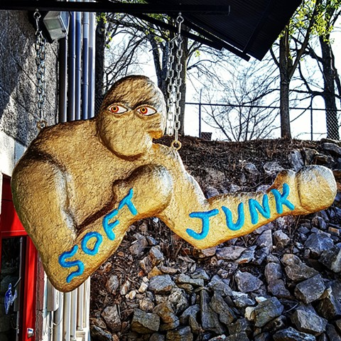 Sign for Soft Junk, Nashville TN
