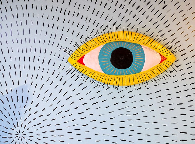 Eyeball detail at Scratch Brewing Co.