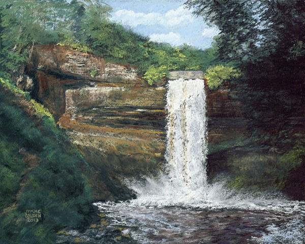 Minnehaha Falls, Minnehaha Creek, Minneapolis, Waterfall,