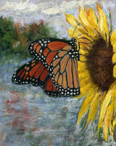 Monarch, Butterfly, Wildflower, Pollinator, Sunflower