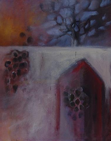 Nest II, oil on canvas © Morgan Johnson Norwood