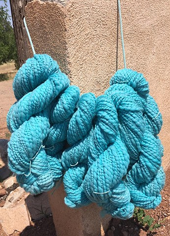 Hand dyed in our NM dye studio