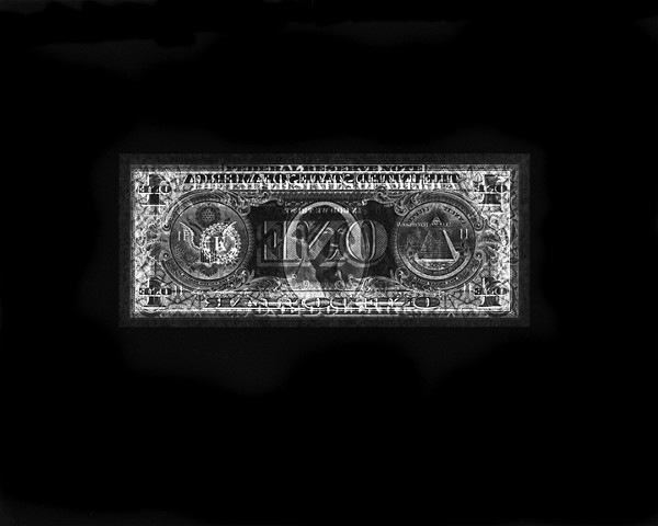 One Dollar Bill Detail
