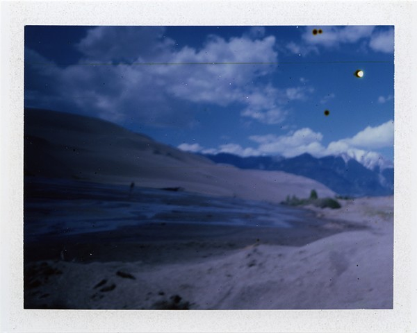 Great Sand Dunes, CO: Fuji FP-100C Instant Print