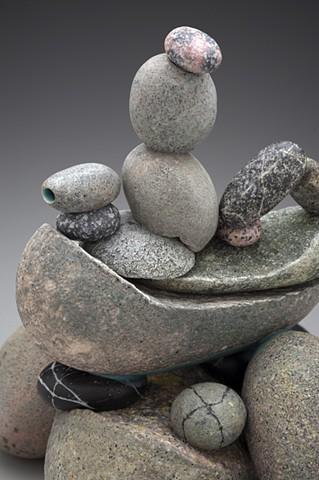 porcelain rock teapot
