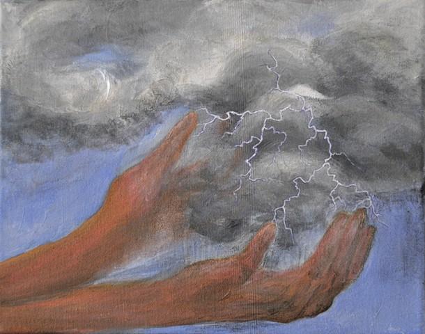 April 26:  wants a thunderstorm