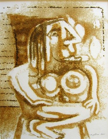 Seated Woman After Picasso