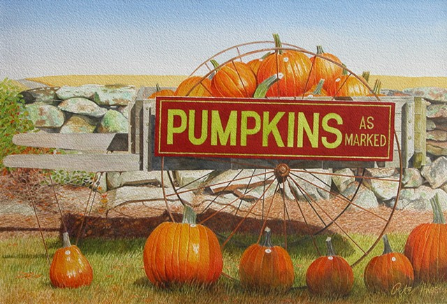 Pumpkins Priced as Marked