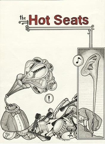 The Hot Seats ep (front cover)