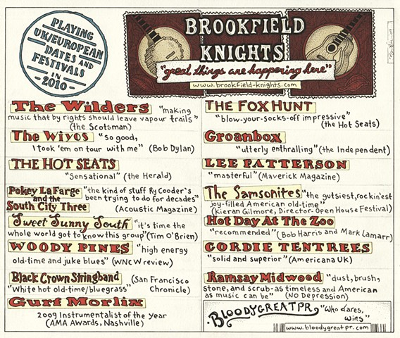 Brookfiled Knights Concert Promotion