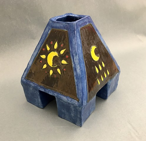 Karen Sanello Class of 2017  Sun and Moon Ceramic