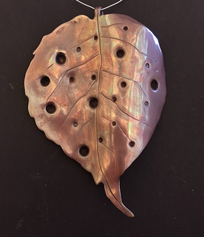 Rogelio Granados Class of 2016  Metal Leaf Copper