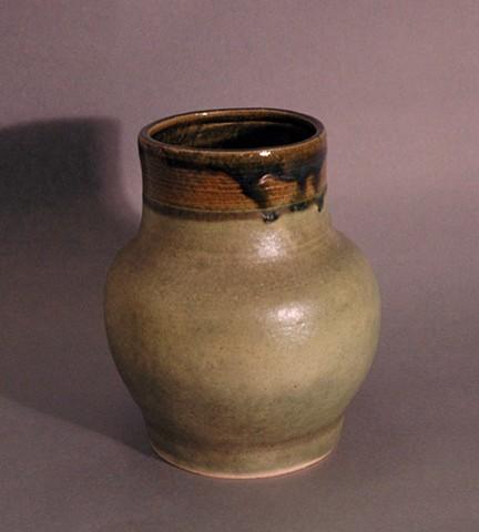 Jazzmine Klopack Class of 2016  Green Vase Ceramic