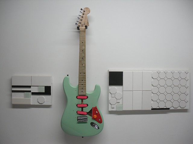 Jesus and a SurfGreen Stratocaster
