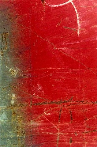 Scratched Red composition  Collection of Capitol One