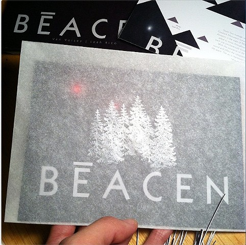 Beacen print collateral
