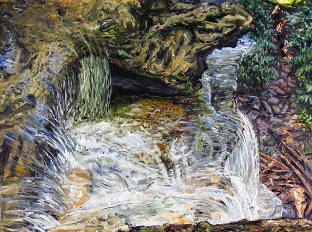 Minnejujuwaha Falls from the Top