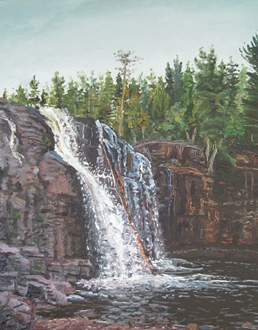 Gooseberry Falls (Log)