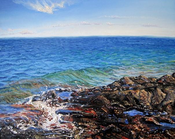 Lake Superior (Colorful)