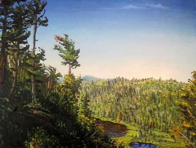 Sawtooth Mountain Scenery (Fantasia Overlook)