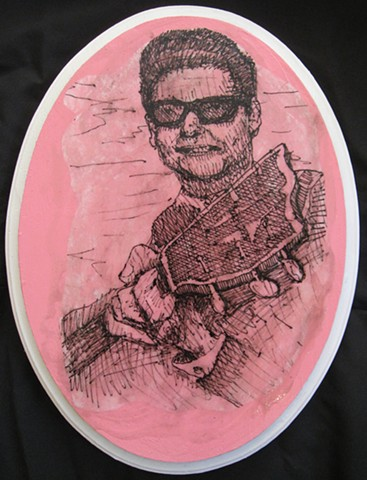Roy Orbison Guitar Slinger
