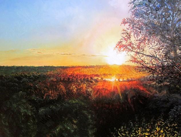 Minnesota Valley Sunset