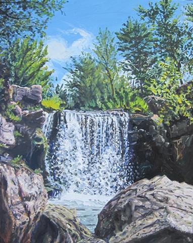 Winnewissa Falls, Pipestone National Monument