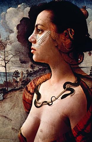 Self-portrait as Simonetta