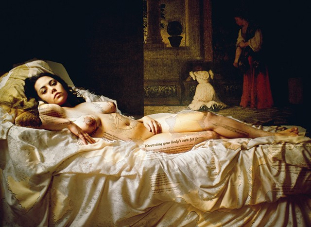 Self-Portrait as Venus of Urbino
