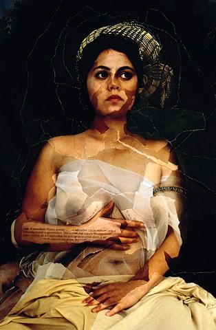 Self-portrait as La Fornarina