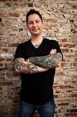 Tattoo Artist Adam Sky, San Francisco, California