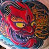 Hannya Tattoo by Adam Tattoos, San Francisco, California