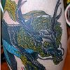 Kirin Tatto by Adam Sky, San Francisco, California