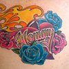 Mommy Heart Tattoo by Adam Sky, San Francisco, California